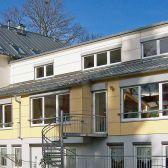 Christliches Gemeindezentrum Sehmatal Energetische Sanierung Umbau Saalanbau Holz